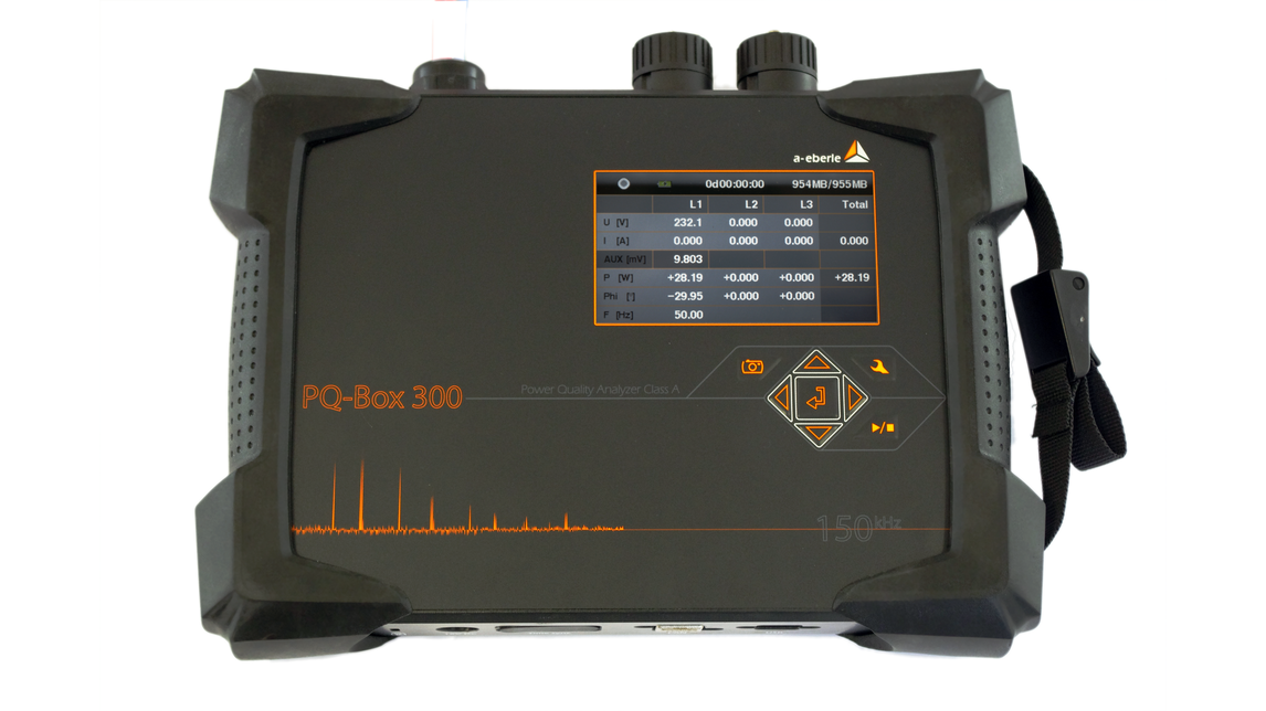 Logo PQ-Box 300 Mobile Network Analyzer