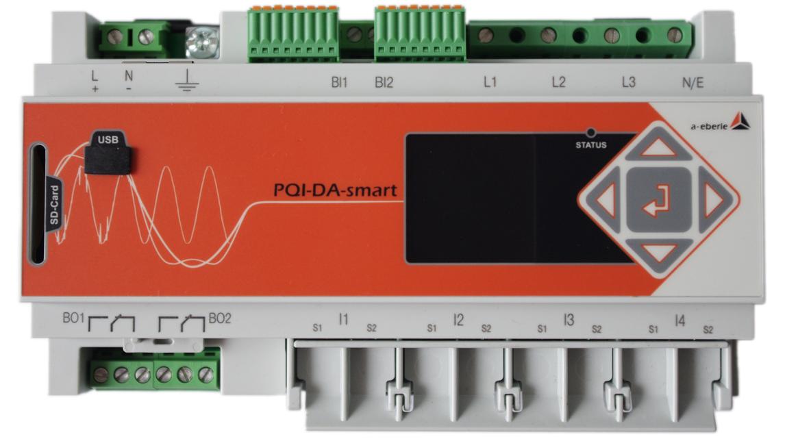 Logo PQ Interface & Disturb.Rec. PQI-DA smart