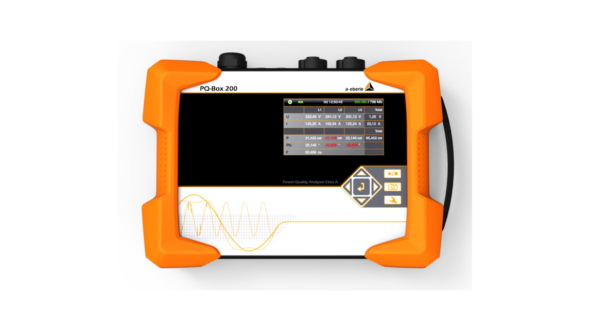 Logo PQ-Box 200 - Mobile Network Analyzer