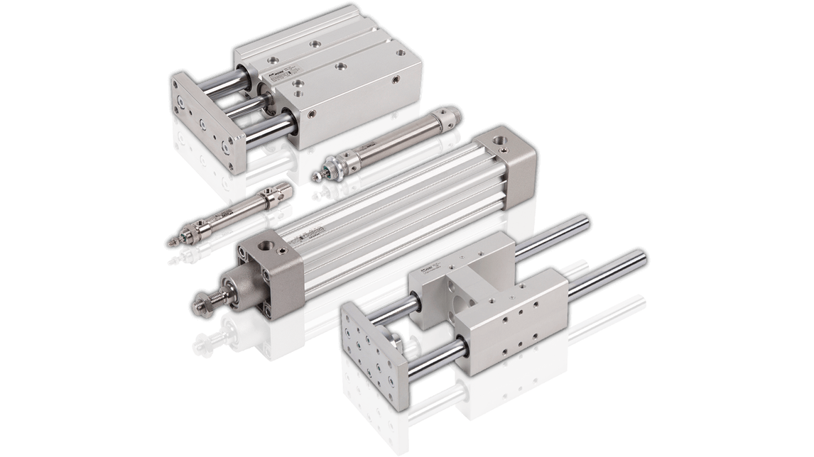 Logo Pneumatic Cylinders and Actuators