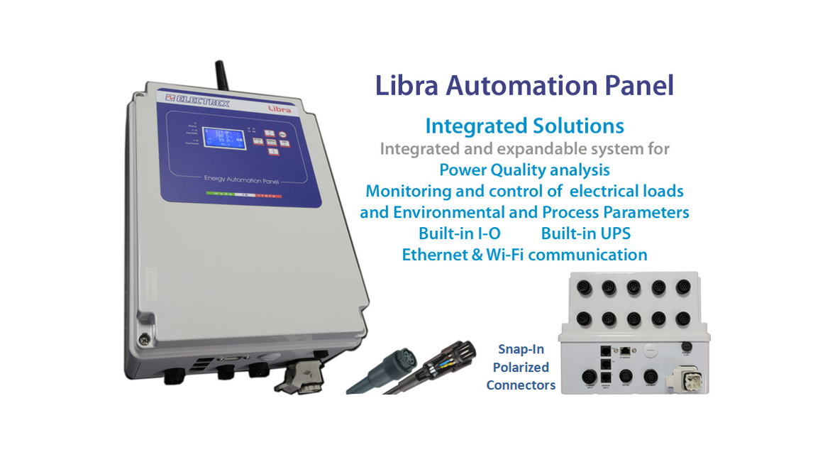 Logo Libra series -  Automation Panel