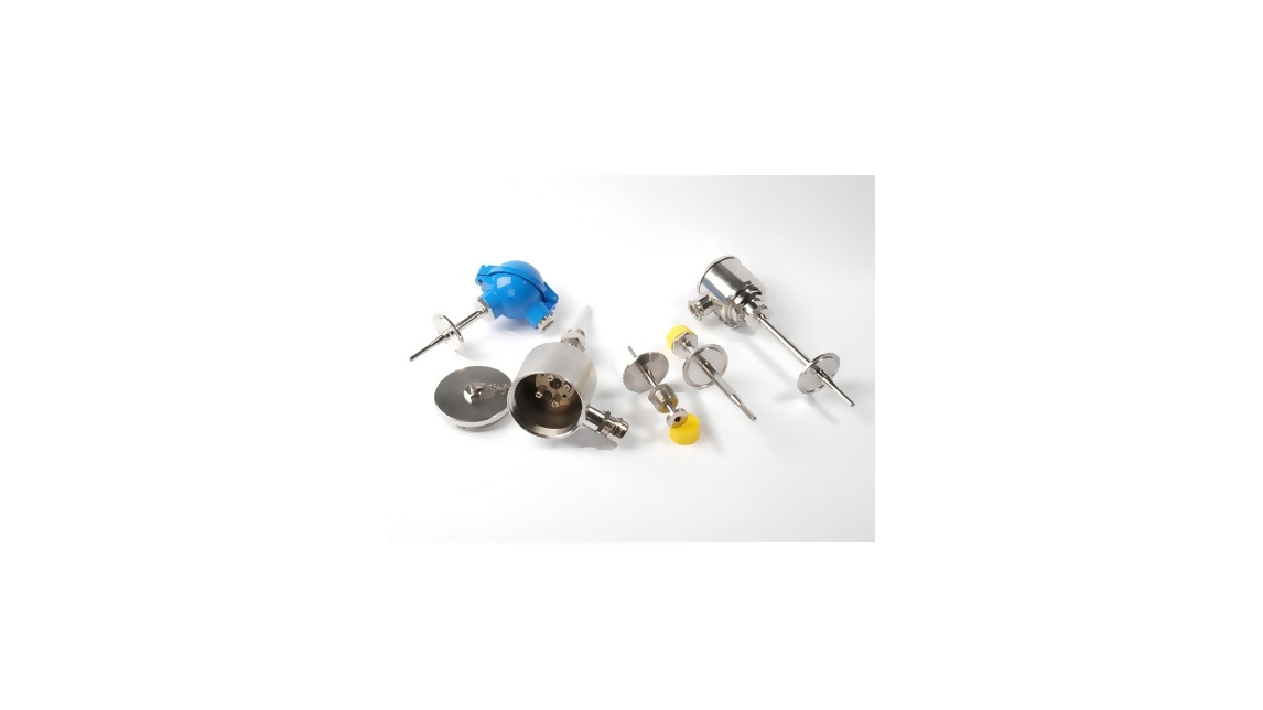 Logo Sensors with sanitary connections,for food and pharmaceutical industry