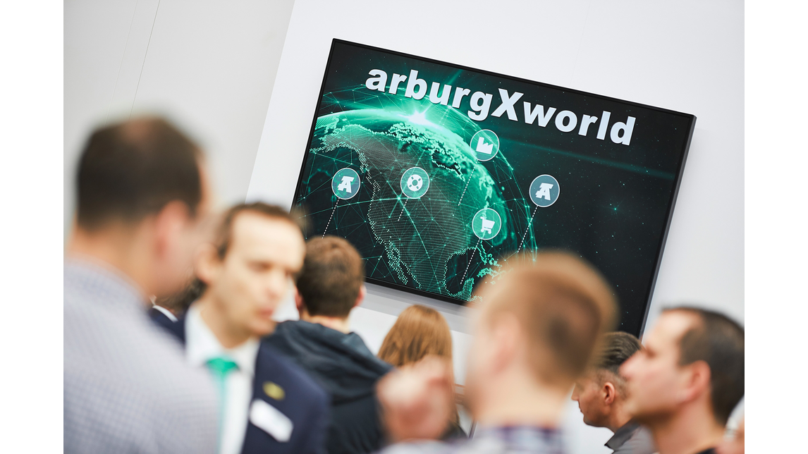"Logo Customer portal ""arburgXworld"""