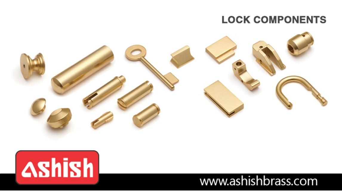 Logo Brass Lock Components