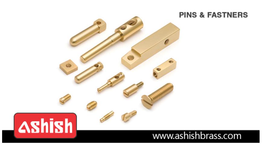 Logo Brass Pins