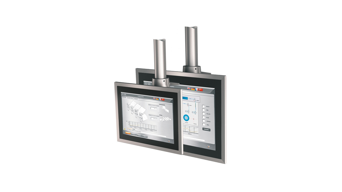 Logo Modular support arm systems single-touch