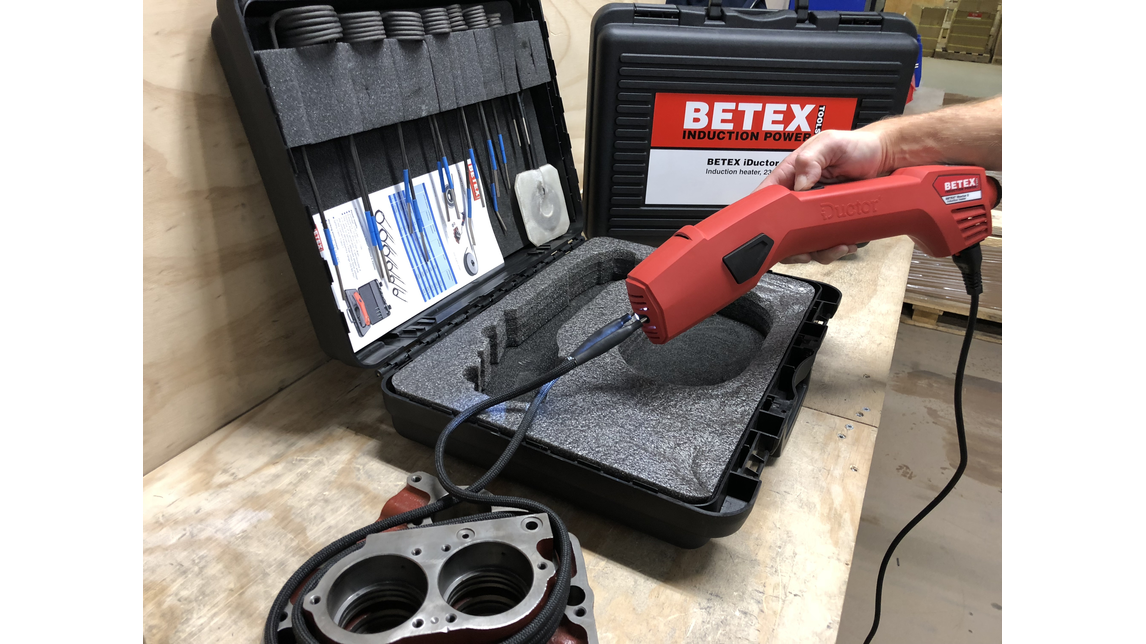 Logo BETEX iDuctor2 for powerful applications