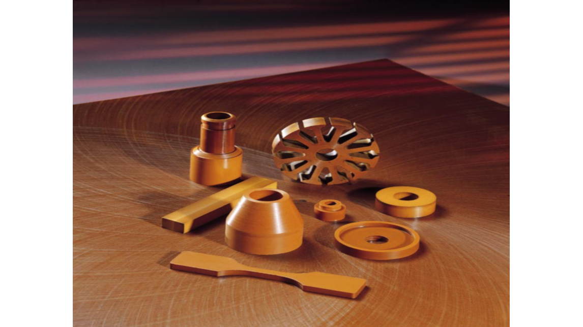 Logo Direct-Formed Parts made of Polyimide PI