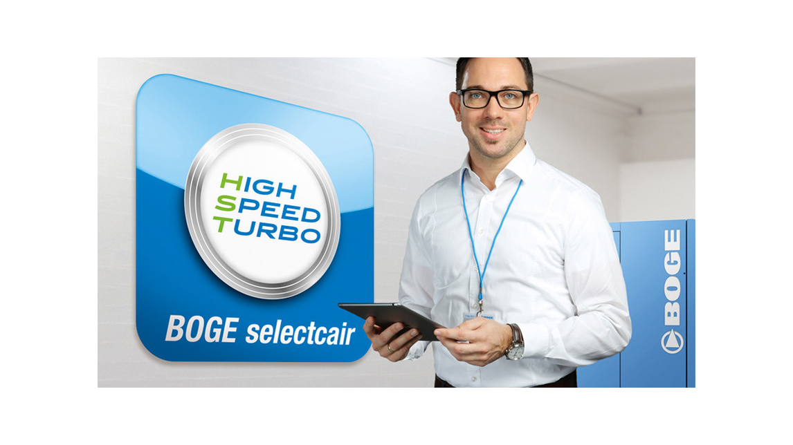 Logo Die Servicerevolution: BOGE selectcair