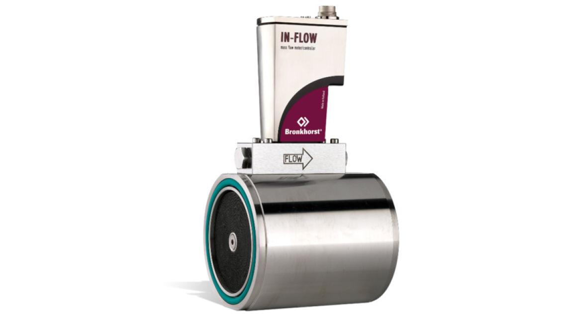 Logo IN-FLOW Durchflussmesser/-regler