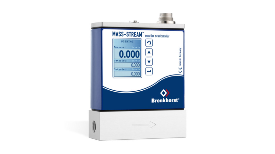 Logo MASS-STREAM Gas Flow Meters/Controllers