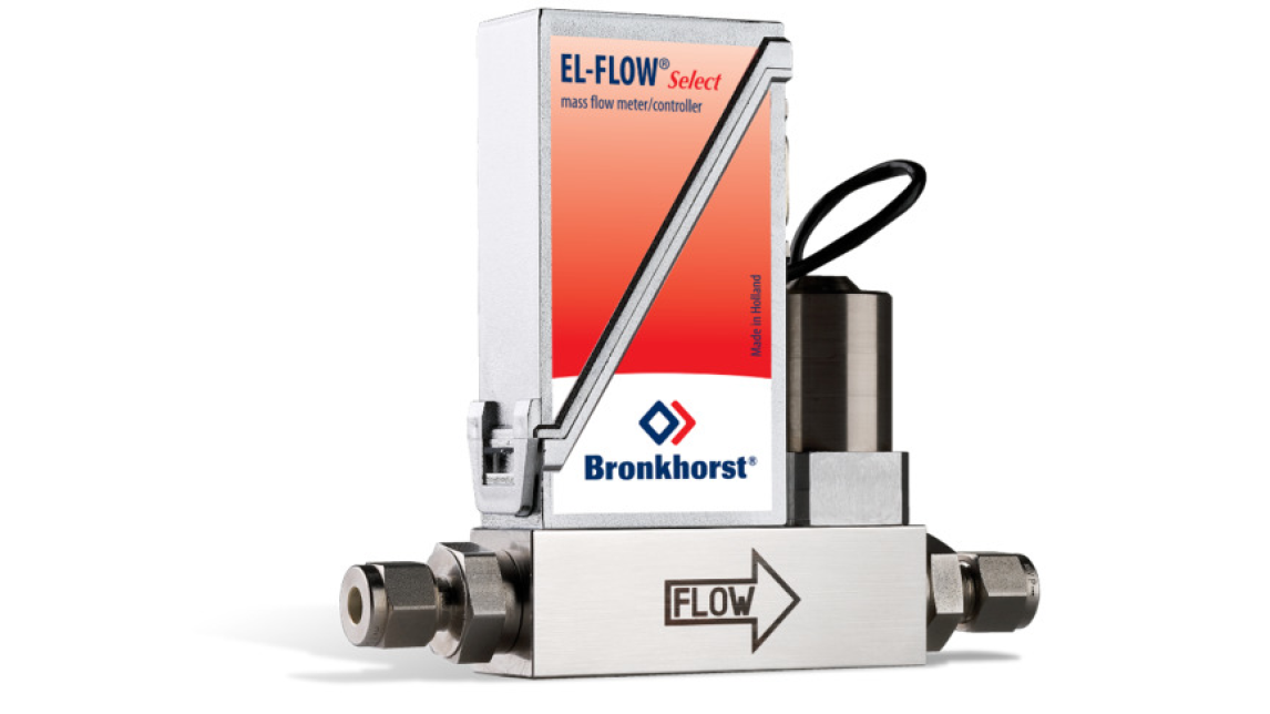 Logo EL-FLOW Gasflussmesser/-regler