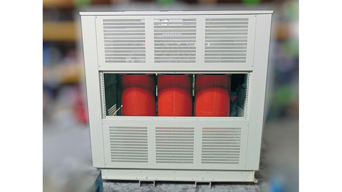 Logo Trocken-Transformatoren bis 10 000 kVA