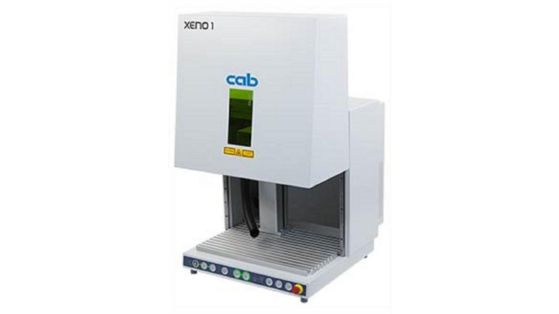 Logo XENO 1 Laserbeschriftungssystem