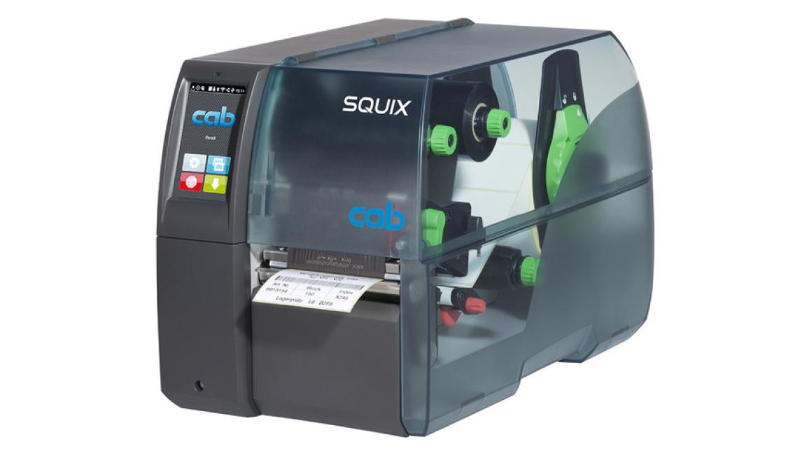 Logo Etikettendrucker SQUIX - für industriell