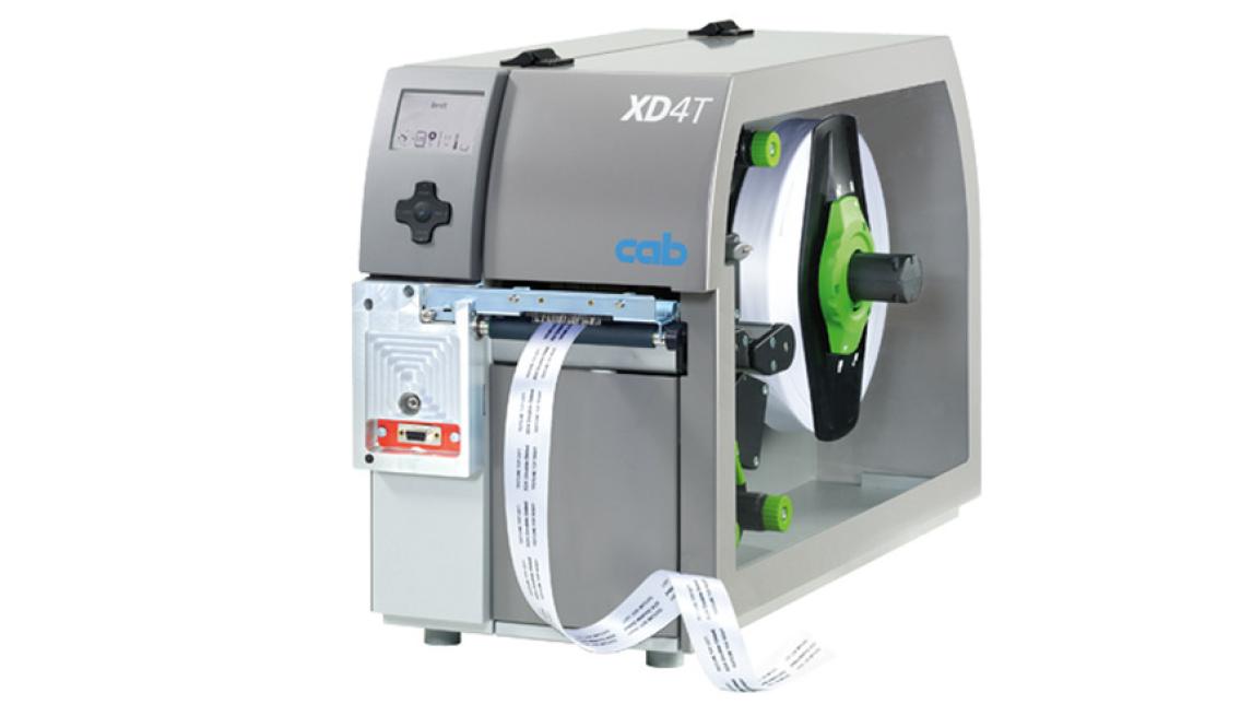 Logo Etikettendrucker XD4T