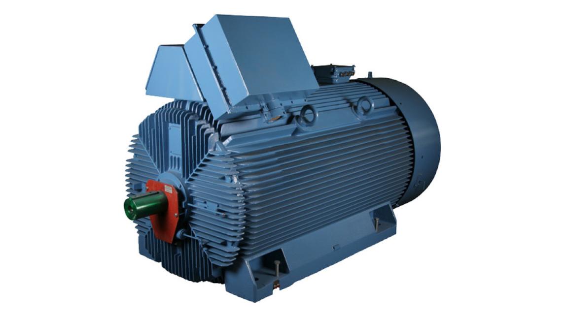 Logo 3-phase motors for high voltage