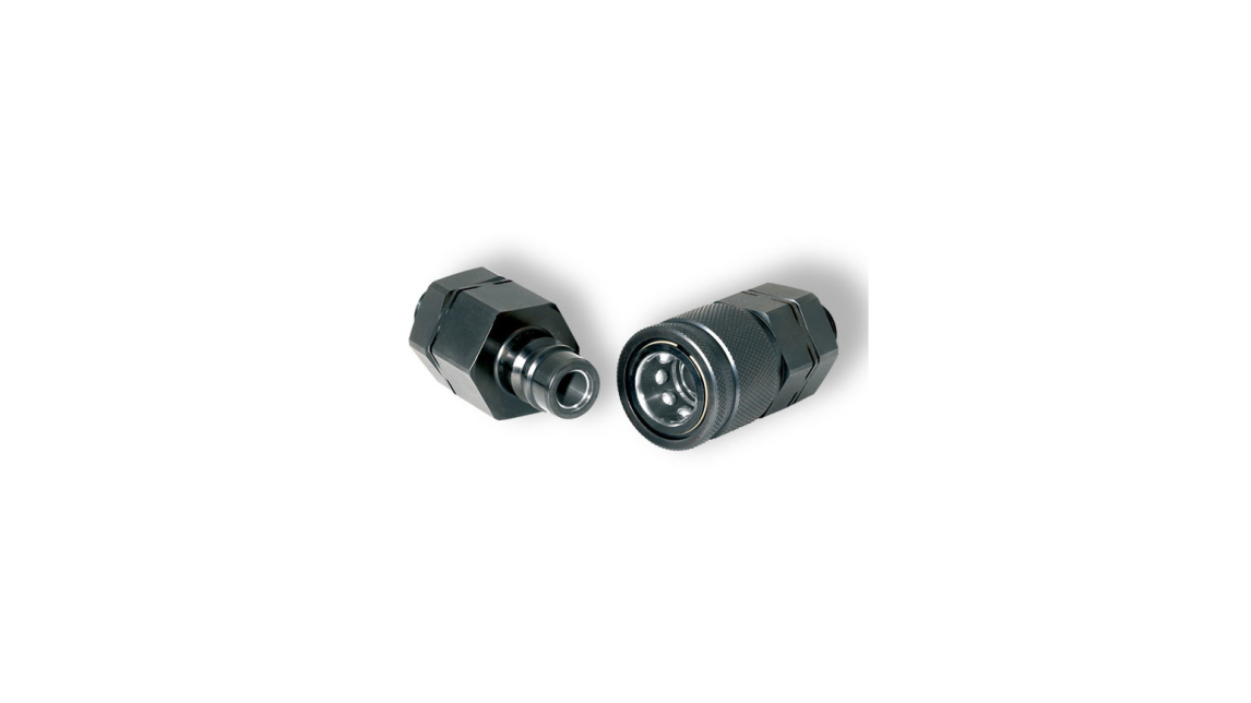 Logo Quick couplings for high pressure