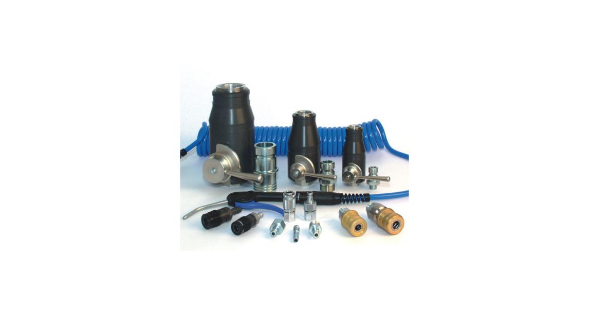 Logo Compressed air couplings series LS&LT