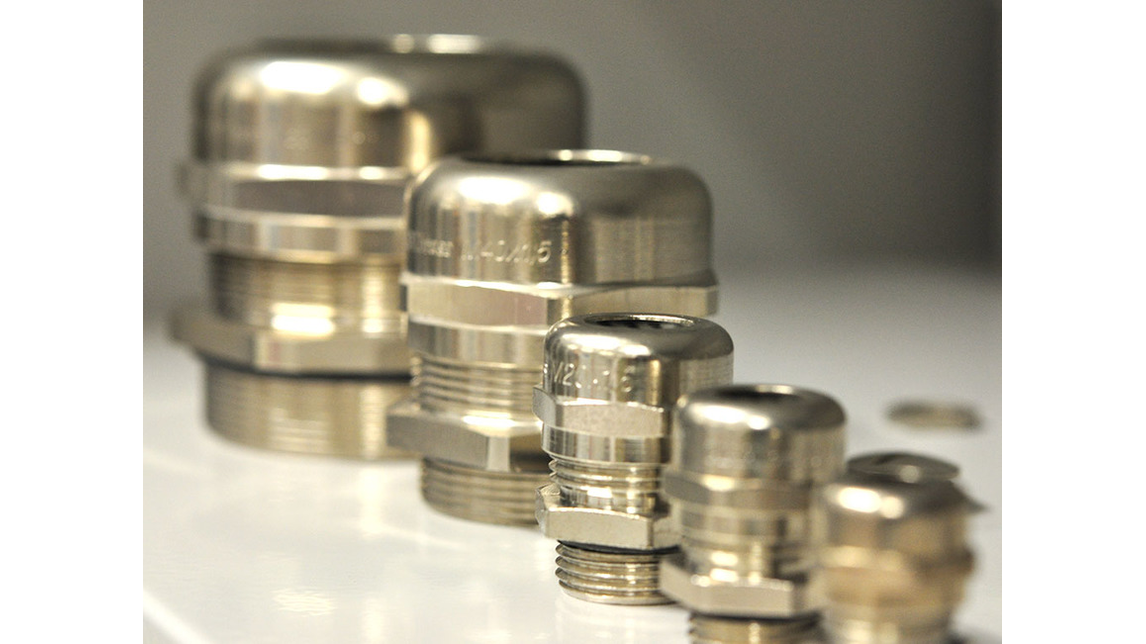 Logo BRASS CABLE GLANDS IP68