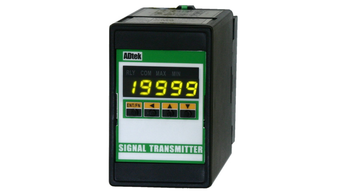 Logo ST-PR  DC SIGNAL CONDITIONER   WITH RS485, A/O & RELAY