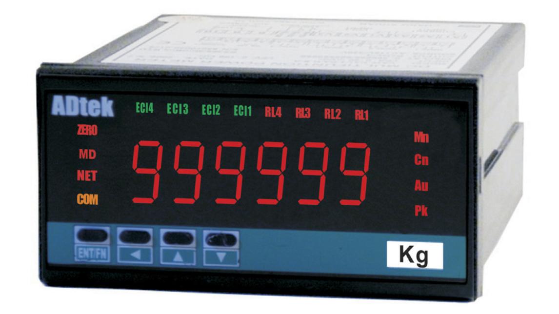 Logo A6-SG   6 digits WEIGHING Controller