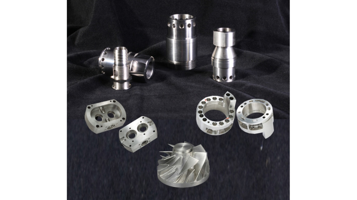 Logo High precision machined parts