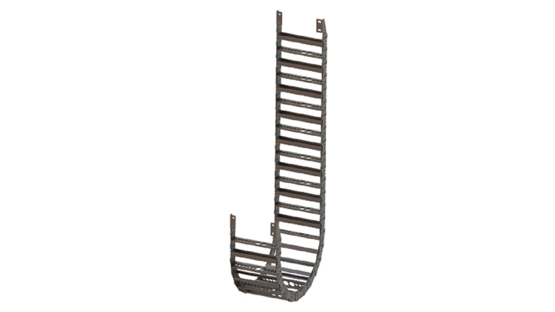 STEEL TYPE CABLE CARRIER CHAIN - Product - HANNOVER MESSE 2019