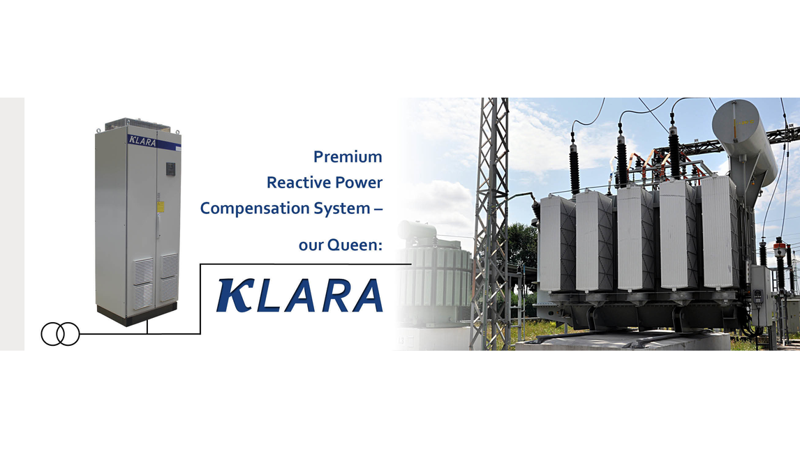 Logo KLARA Premium Reactive Power Compens.