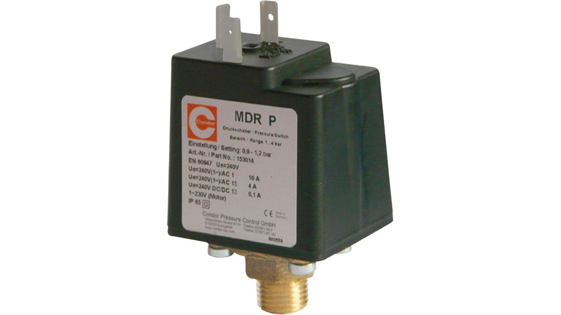 Logo Control pressure switch MDR-P