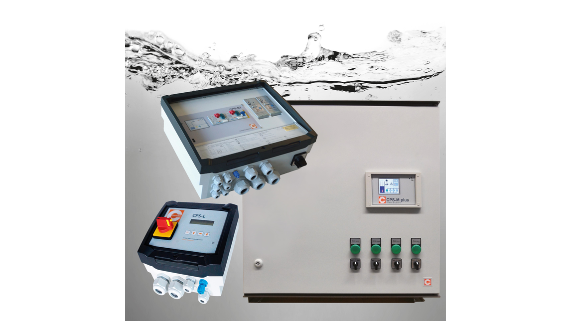 Logo Pump Controls & Level measuring