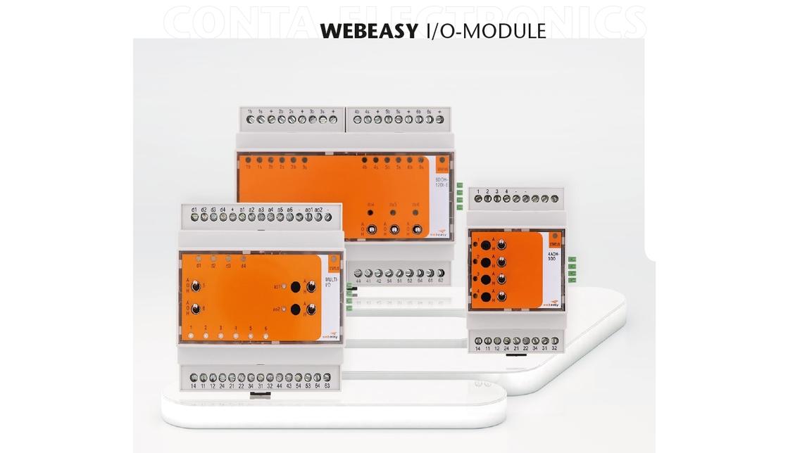 Logo Webeasy Modbus IO Module
