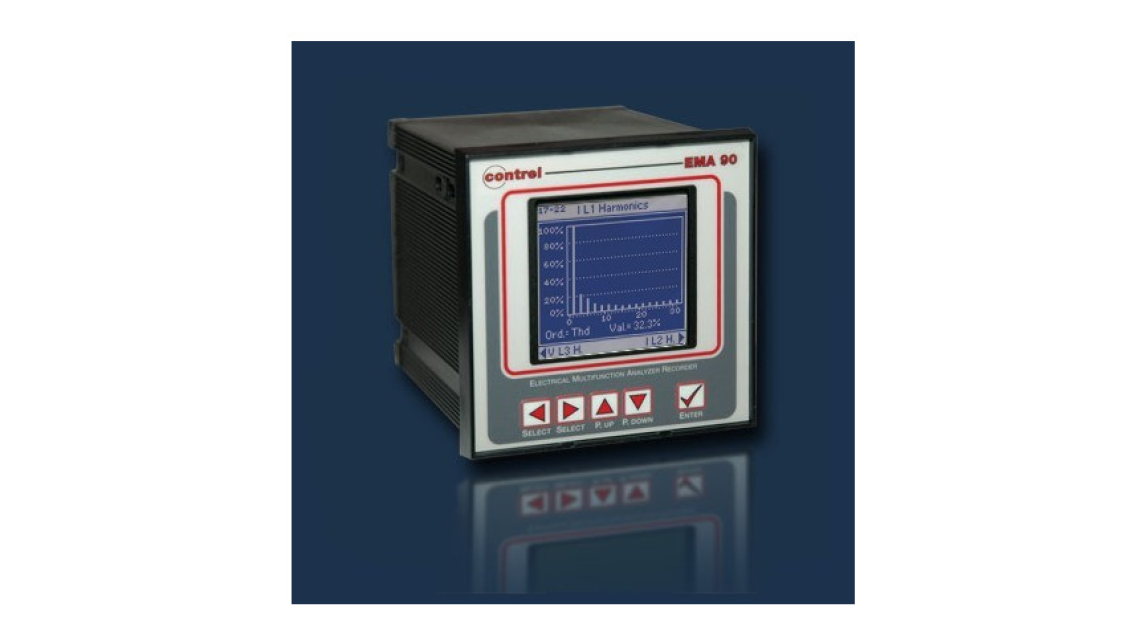 Logo Electrical multifunction analysers - EMA