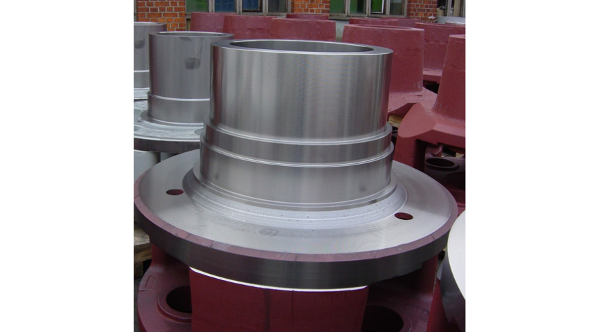 Logo Vertical lathing parts
