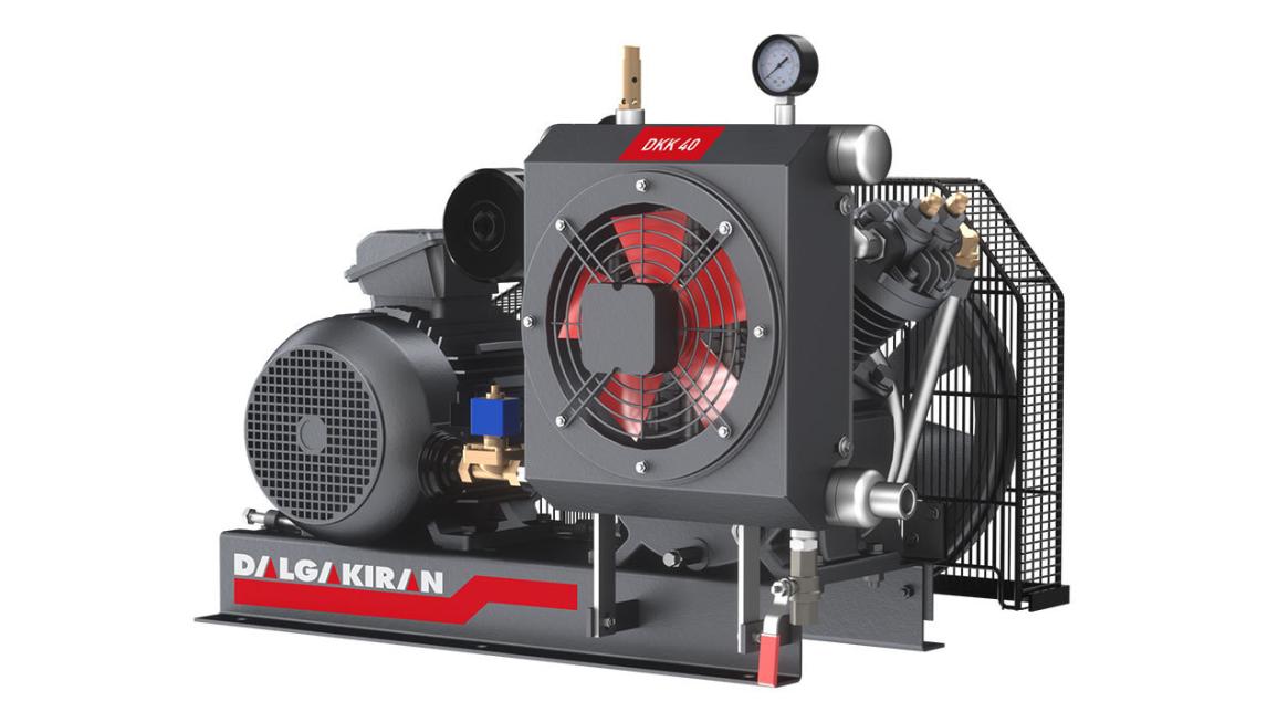 Logo DKK Series High Pressure Air Compressors
