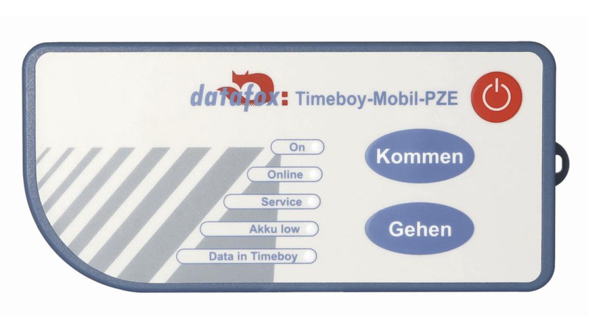 Logo Datafox TimeboyIV Mobil-PZE