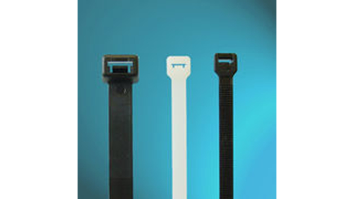 Logo UL Approved Heavy Duty Nylon Cable Ties