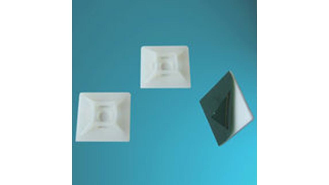 Logo Nylon Cable Tie Mounts (Self-adhesive)
