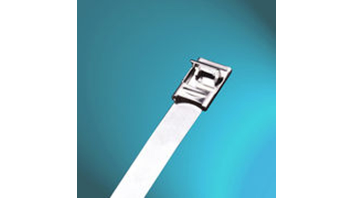 Logo UL-approved Stainless Steel Cable Ties