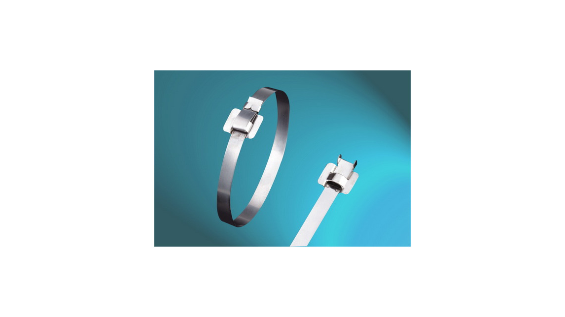 Logo UL Approved Stainless Steel Cable Ties