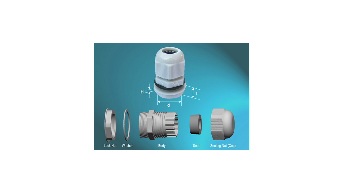 Logo Nylon Cable Glands