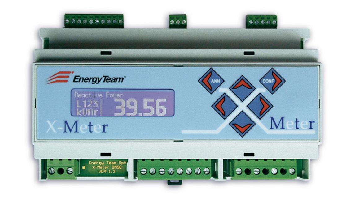 Logo Electrical Network Analyzer X-Meter