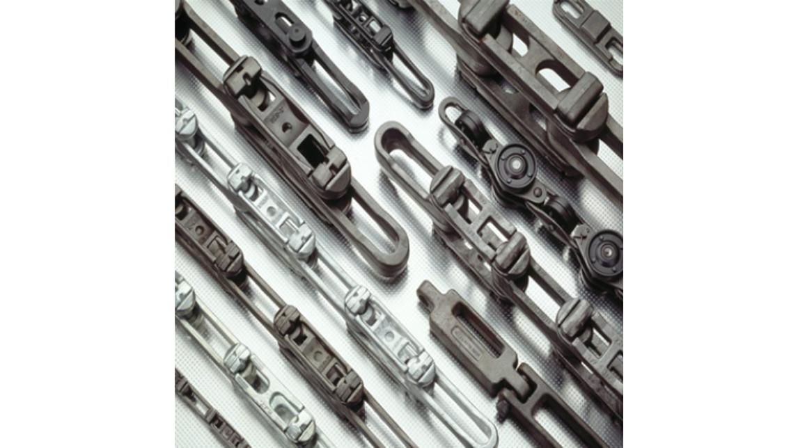 Logo Drop Forged Rivetless Chains