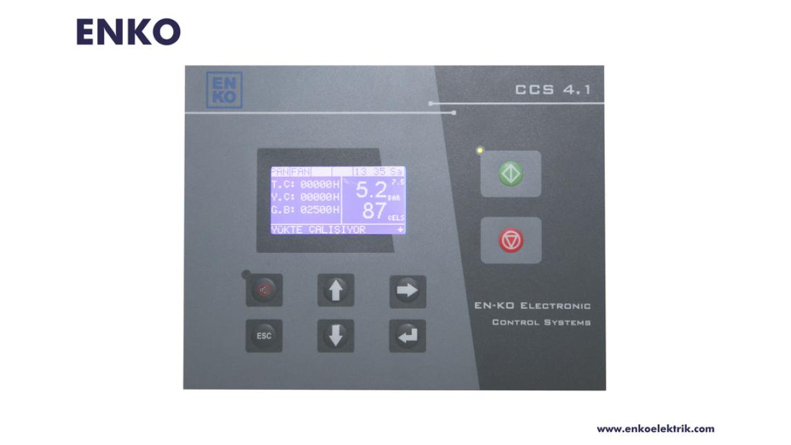 Logo CCS 4 Platform Air Compressor Controller