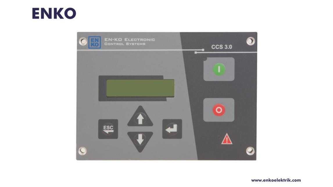 Logo CCS 3 Platform Air Compressor Controller