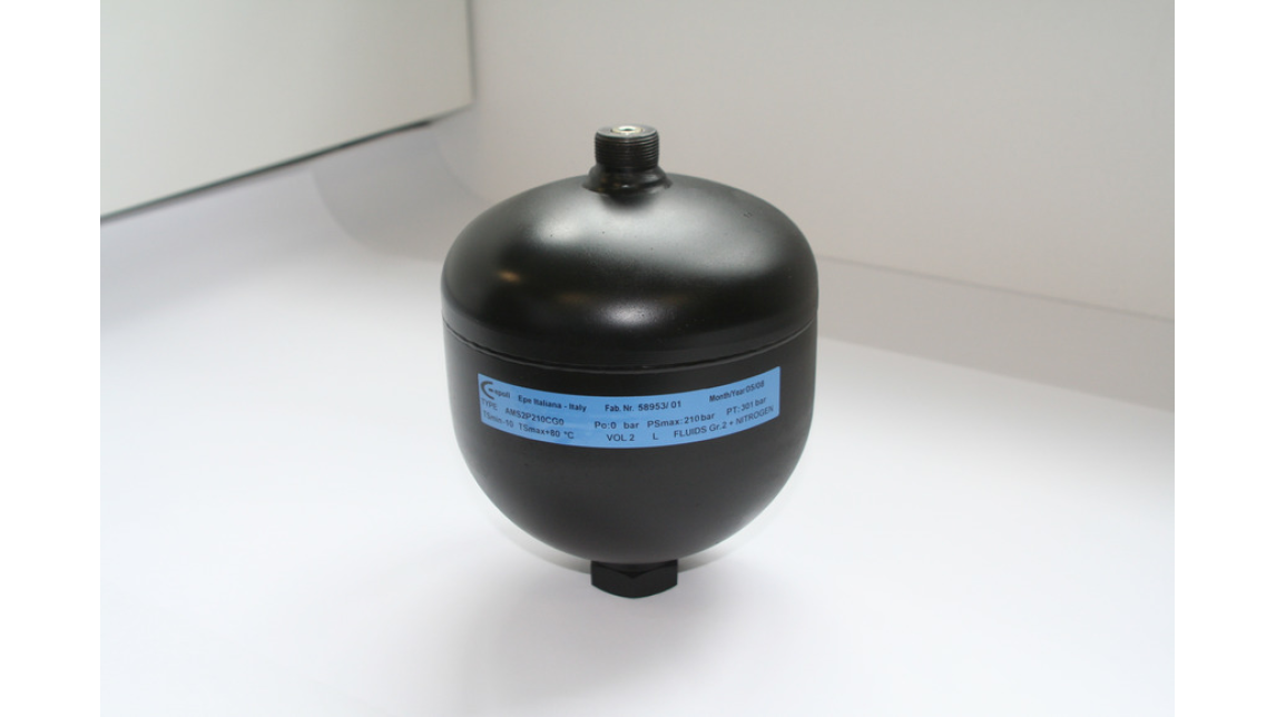 Logo Hydropneumatic Diaphragm Accumulators