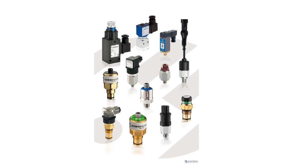 Logo pressure switches, pressure transducers
