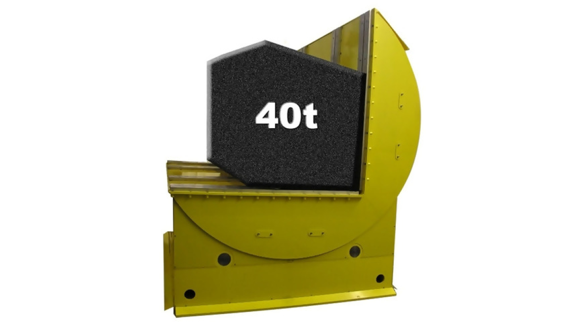 Logo Turning device / coil turner
