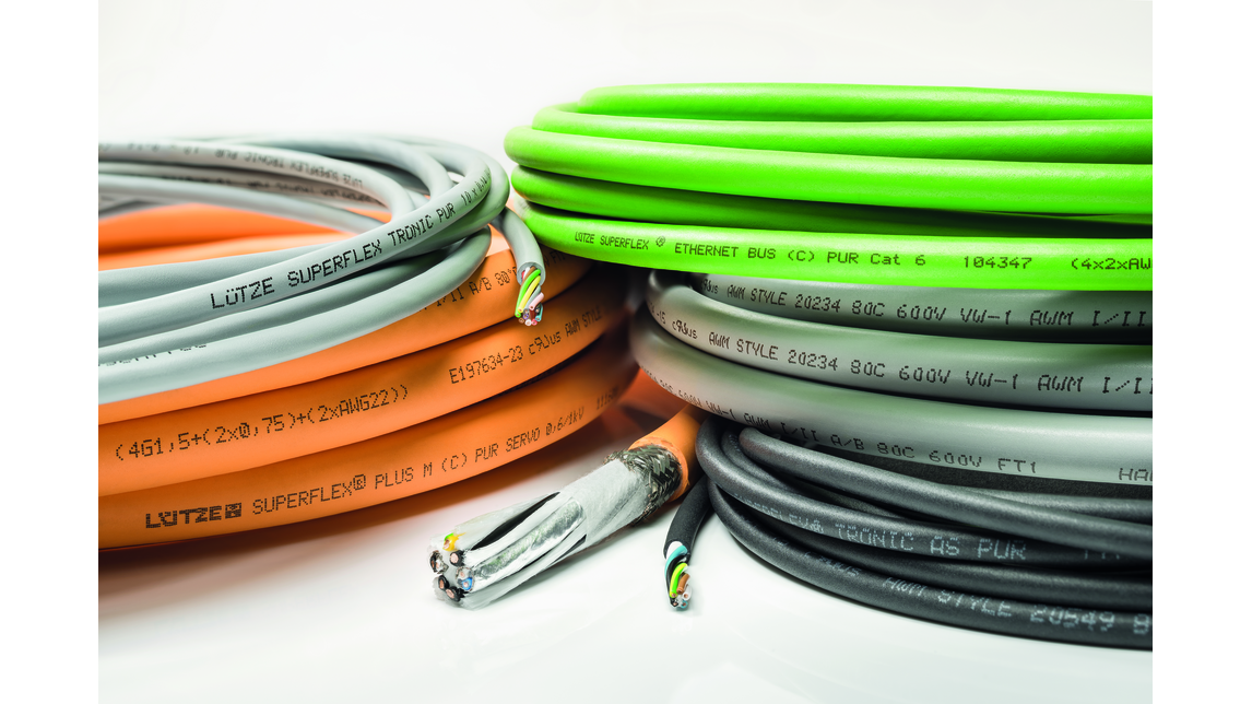 Logo High flexing cables for C-Tracks