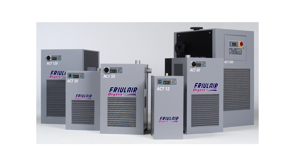 Logo Refrigeration air dryers, Filters and Water Chillers
